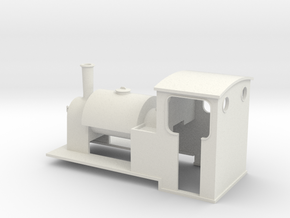 5.5 mm scale saddle-tank loco   in White Natural Versatile Plastic