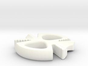8x in White Processed Versatile Plastic