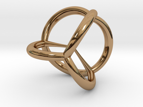 5-cell in Polished Brass