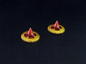 Claustro Wound Tokens (10/15 pcs) in White Strong & Flexible Polished: Medium
