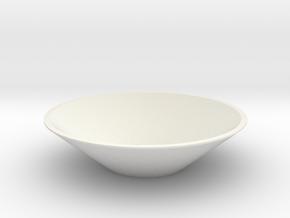 Touchable Speaker in White Natural Versatile Plastic