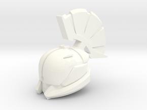Saint 14 Helm in White Processed Versatile Plastic