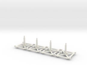 Stand x4 3.0 in White Natural Versatile Plastic