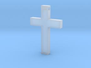 Latin Cross Pendant (Monroe Cross Variation) in Smooth Fine Detail Plastic