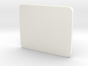 Top REV A in White Processed Versatile Plastic