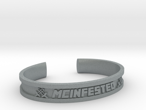 McBracelet (2.2 Inches) in Polished Metallic Plastic
