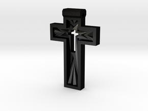 Cross in Matte Black Steel