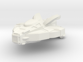 Cardy Patrol Cruiser in White Strong & Flexible