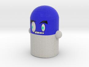 Blue Pillock Mini in Full Color Sandstone