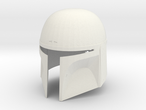 Supertrooper (Boba Fett) Helmet in White Natural Versatile Plastic