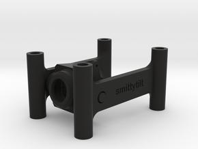 Camera Tilt QAV in Black Natural Versatile Plastic