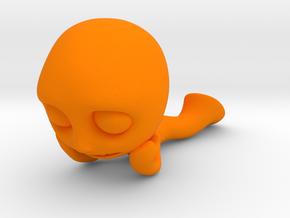 MTI-newfella pose 5 in Orange Strong & Flexible Polished