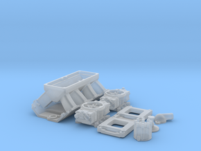 1/18 BBC Tunnel Ram For Symetric Port Heads in Smooth Fine Detail Plastic