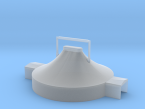 Zelt 18 Meter - 1:220 (Z scale) in Smooth Fine Detail Plastic