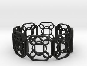 Swanky Trug-sango in Black Natural Versatile Plastic