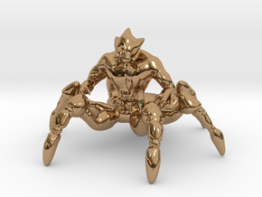Spider Centaur in Polished Brass