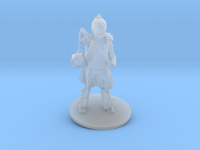 Chris M. As Warrior Girl in Smoothest Fine Detail Plastic