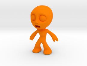 MTI-newfella pose7 in Orange Processed Versatile Plastic