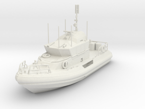 ~1/87 RB-M USCG Response Boat Medium WaterLine upd in White Natural Versatile Plastic