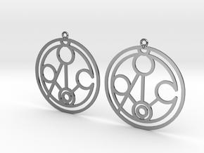 Meghan - Earrings - Series 1 in Premium Silver