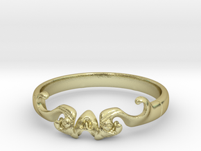 Skull of ring(reboot)(size = USA 5.5)  in 18k Gold Plated