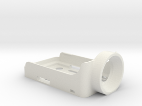RuncamHD holder and protection for ZMR250 in White Natural Versatile Plastic