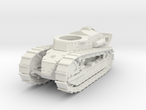 28mm M1917 Six Ton Tank (Hull) in White Natural Versatile Plastic