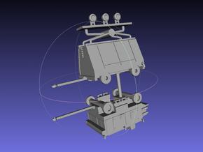 1/144 Ground Equipment Set 3 in Smooth Fine Detail Plastic