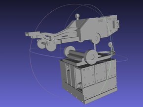 1/144 Ground Equipment Set 1 in Smooth Fine Detail Plastic