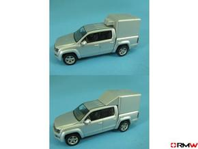 HO/1:87 Pickup cap aircon+deflector set VW AMAROK in Smooth Fine Detail Plastic