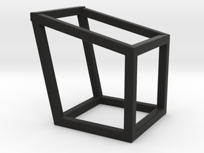 Cube2 in Black Natural Versatile Plastic