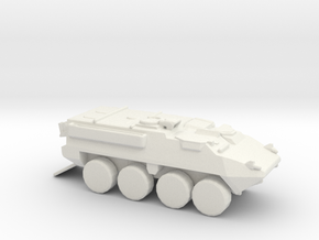 Stryker V! 1-144 scale in White Natural Versatile Plastic
