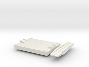 1/700 Intermediate Pontoon in White Strong & Flexible