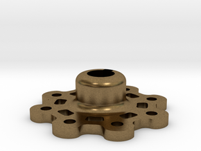Mid Strength Wheel Hub (17 mm) in Natural Bronze