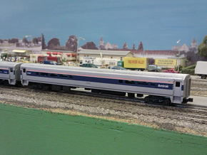 Amtrak Horizon Cafe V2 Doors in Smooth Fine Detail Plastic