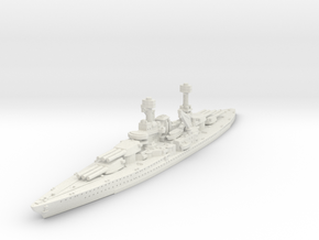 1/1800 USS South Dakota BB (1920) in White Natural Versatile Plastic