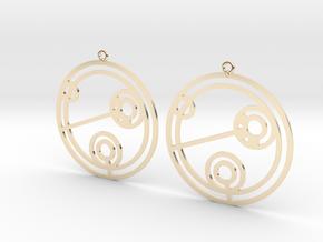 Julie - Earrings - Series 1 in 14K Yellow Gold