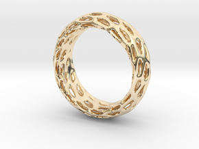 Trous Ring S10 in 14K Yellow Gold