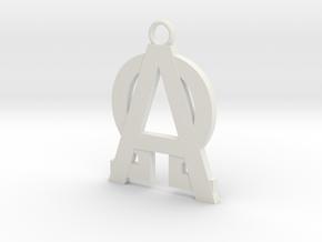 Alfa-omega  in White Strong & Flexible