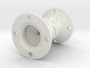 Bottle Connector (Large) - 3Dponics in White Natural Versatile Plastic