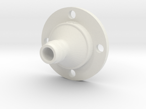 Drip Nozzle (3/4 Inch, 4 Holes) - 3Dponics  in White Strong & Flexible