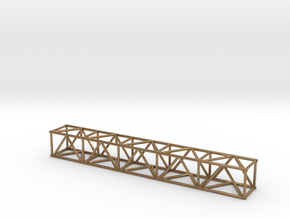 "10' 16""sq Box Truss 1:48 in Natural Brass"