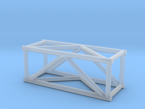 "2'6"" 12""sq Box Truss 1:48  in Smooth Fine Detail Plastic"