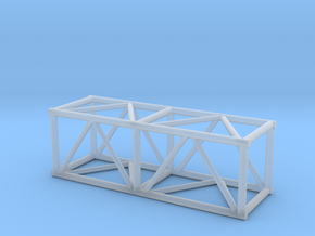 "5' 20.5""sq Box Truss 1:48 in Smooth Fine Detail Plastic"