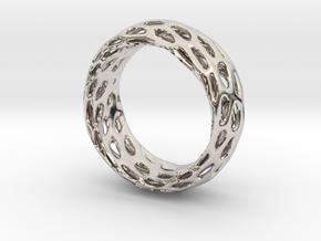 Trous Ring Size 5.5 in Platinum