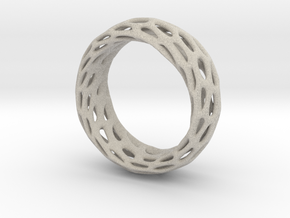 Trous Ring Size 5.5 in Natural Sandstone