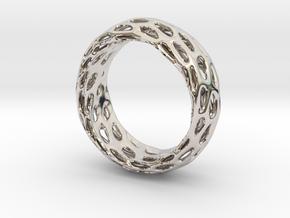 Trous Ring Size 6.5 in Platinum
