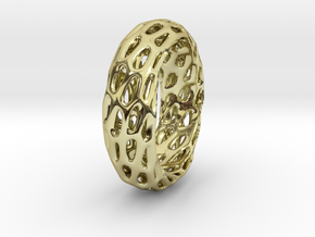 Trous Ring in 18k Gold