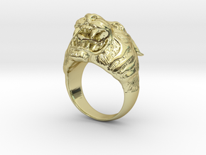 Tiger in 18k Gold Plated