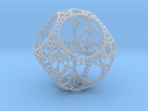 Apollonian Octahedron in Frosted Ultra Detail